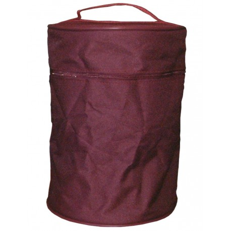 Porte urne tissus bordeaux