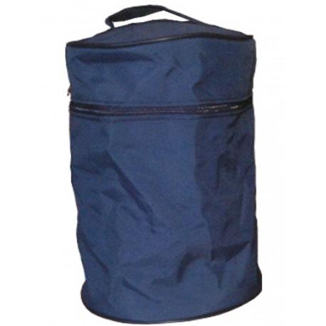 Porte urne tissus bleu